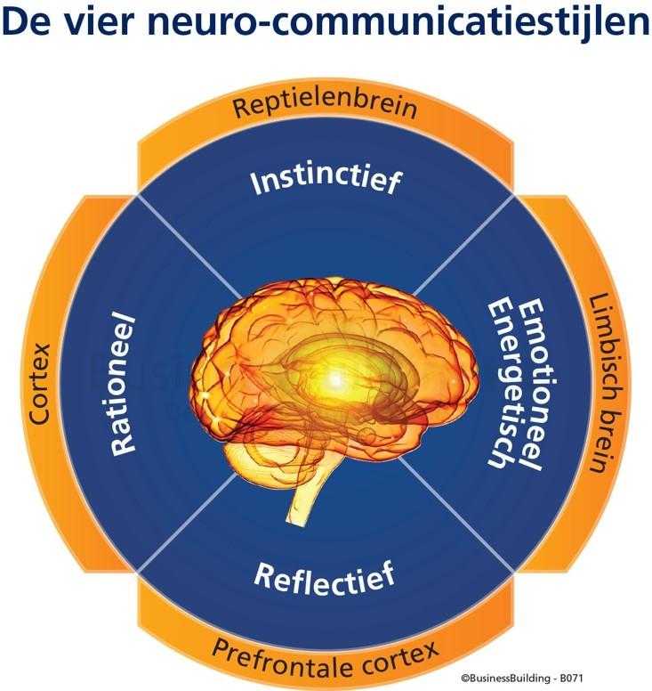 4 neuro communicatiestijlen